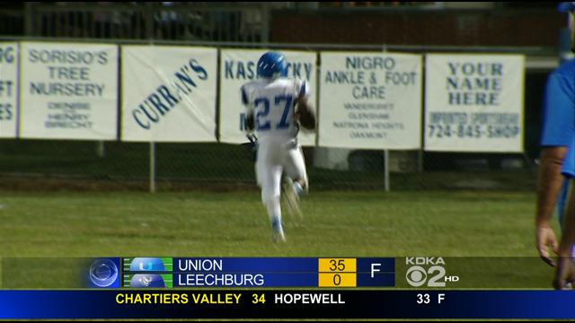 High School Football: Union Vs. <b>Leechburg</b> « CBS Pittsburgh